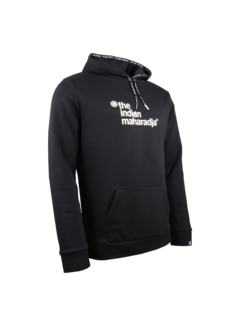 Indian Maharadja Herren Hooded Sweat Block Schwarz
