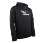 Men Hooded Sweat Block Zwart