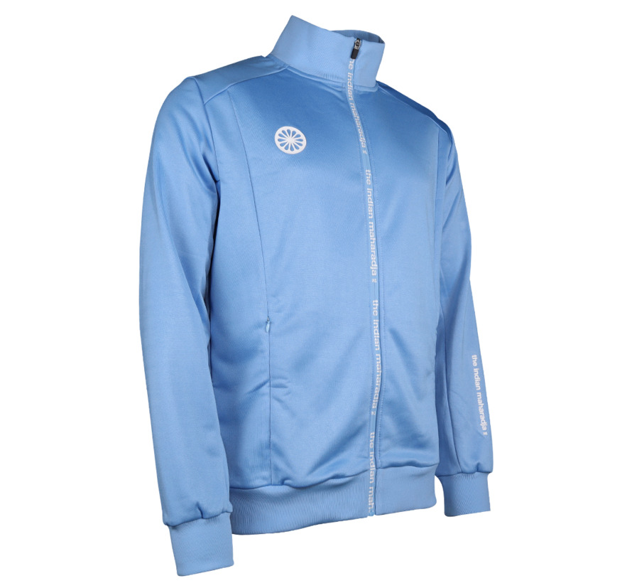 Kids Jacket Poly Terry Blau