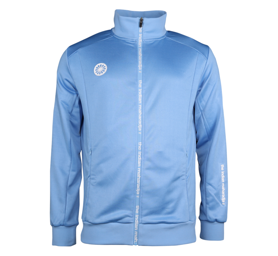 Kids Jacket Poly Terry Blue