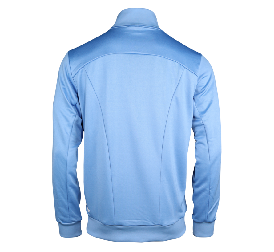 Men Jacket Poly Terry Blau