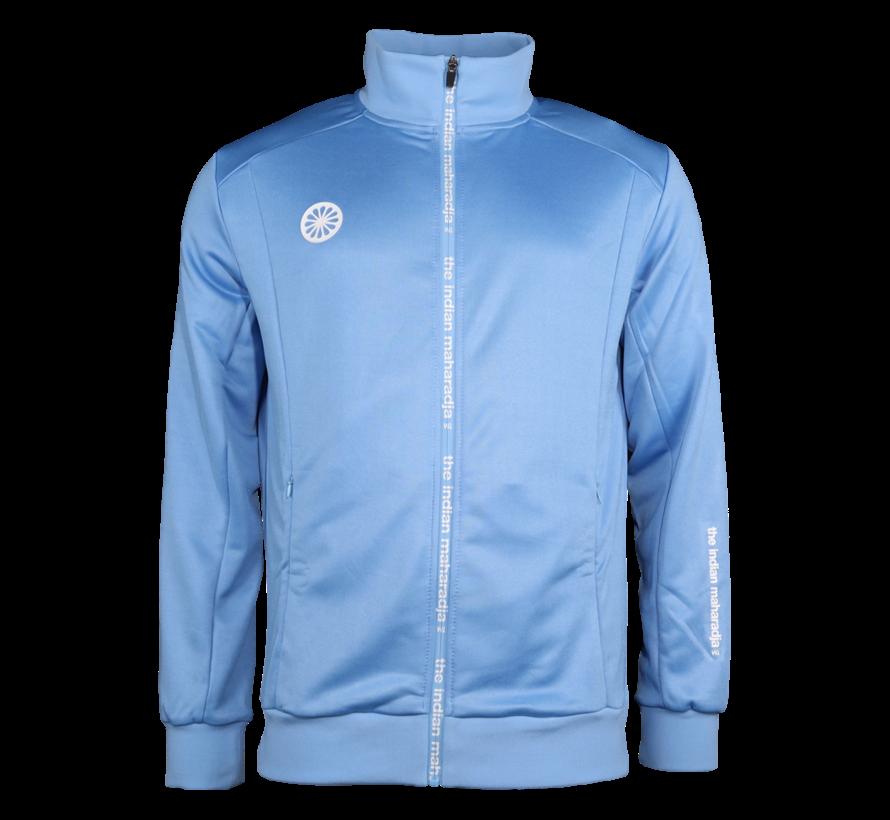 Men Jacket Poly Terry Blue