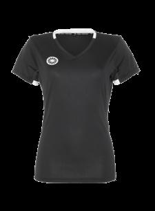 Indian Maharadja Girls Tech Shirt Black