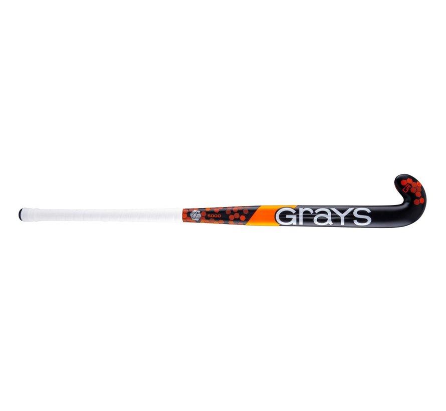 GR5000 Midbow  Zwart/Neon Rood