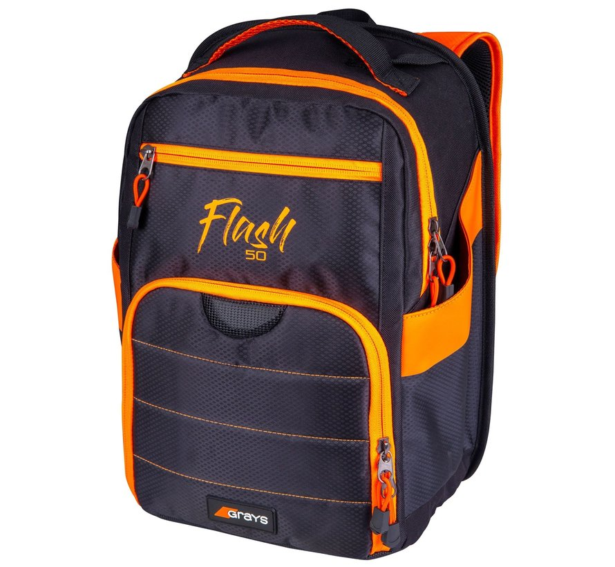 Rugzak FLASH 50 Zwart/Oranje