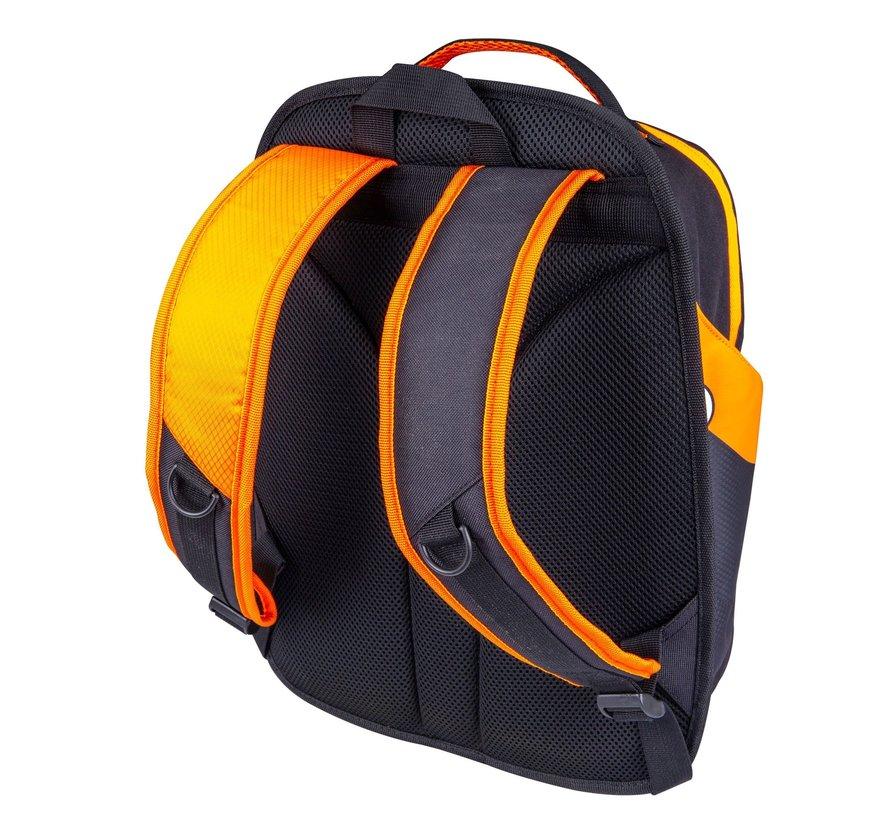 Rucksack FLASH 50 Schwarz/Orange