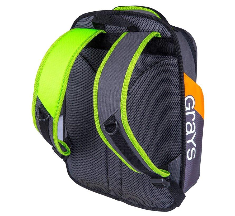 Rucksack FLASH 50 Charcoal / Neon Gelb