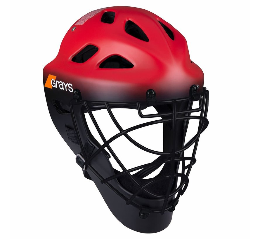 G600 Helm Rood / Zwart