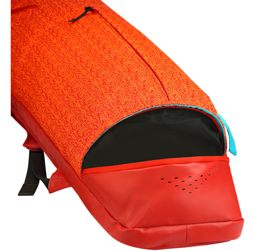 H5 Medium Stickbag Scarlet/Solar Oranje