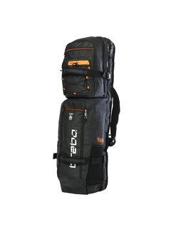 Brabo Stickbag Elite Kangaroo Black/Orange
