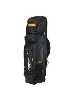 Brabo Stickbag Elite Black/Neon Orange