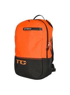 Brabo Backpack Tribute Jr Black/Neon Orange
