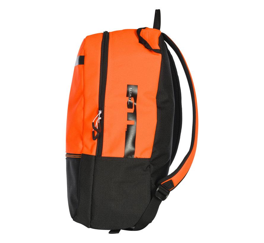 Backpack Tribute Jr Black/Neon Orange