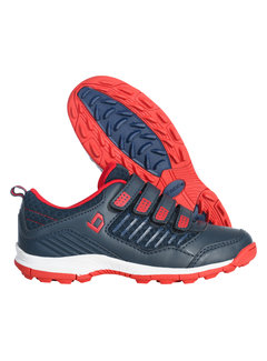 Brabo Hockey shoes velcro Navy/Red