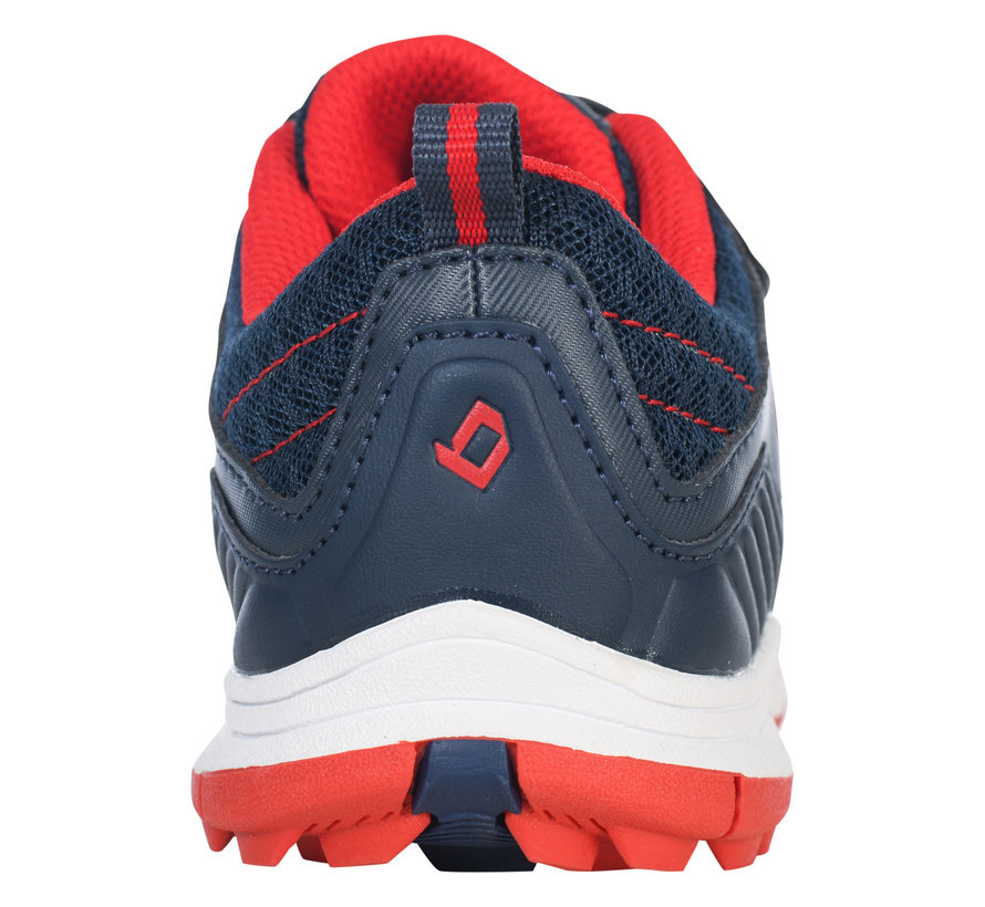 Hockeyschoenen klittenband Navy/Red