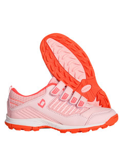Brabo Hockey shoes velcro Soft Pink