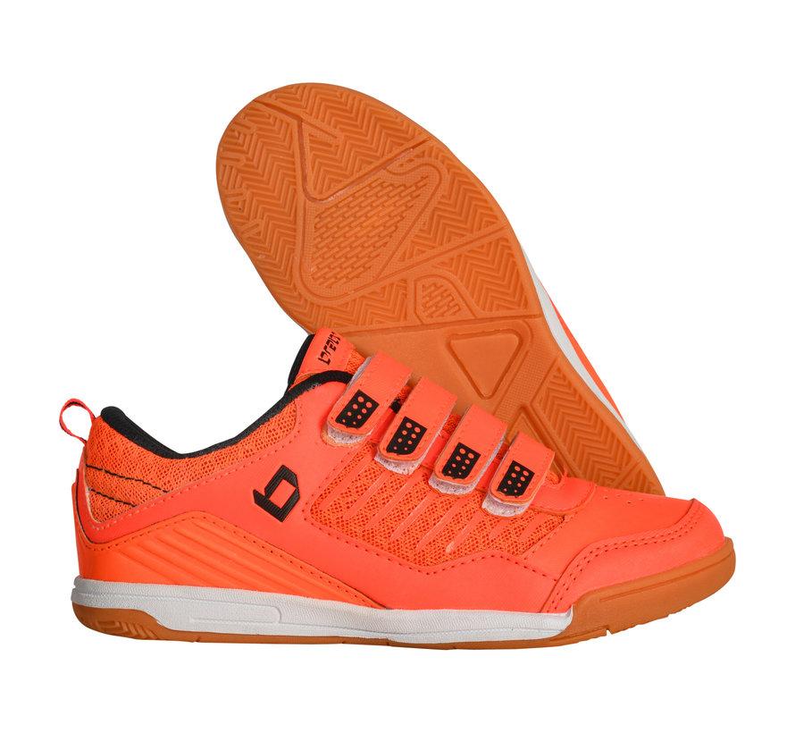 Zaal hockeyschoenen klittenband Orange