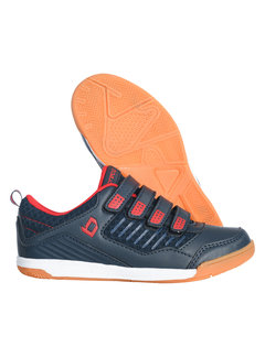 Brabo Indoor hockey shoes velcro Navy/Red