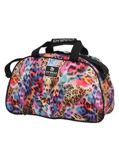 Brabo Schultertasche Leopard Rainbow