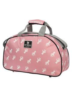 Brabo Schultertasche Zebra Soft Pink