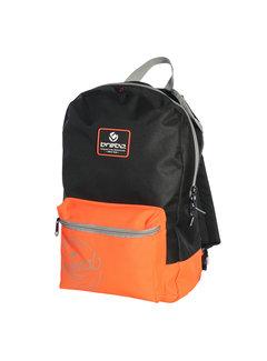 Brabo Backpack Storm original Black/Neon Orange