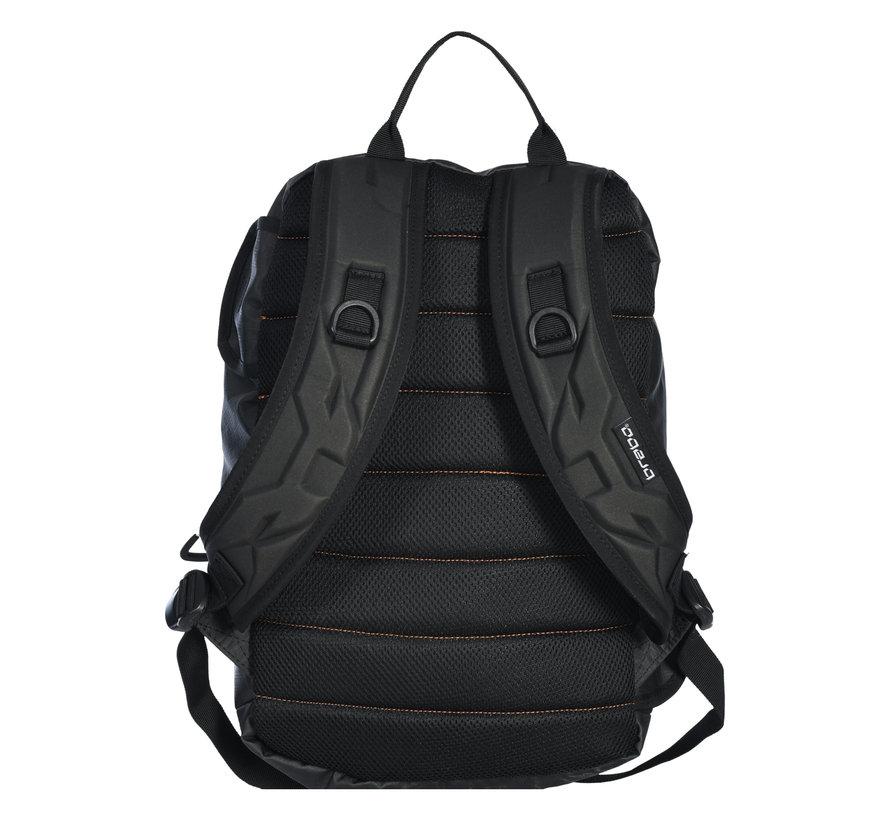 Backpack Traditional Jr Black/Neon Orange
