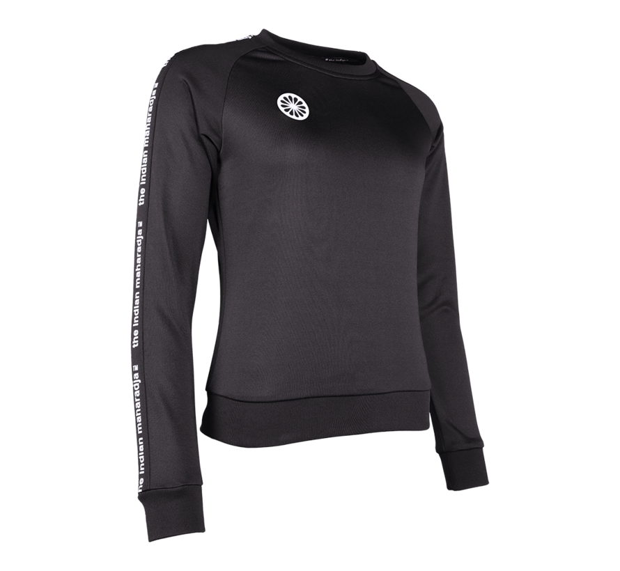Women Sweater Poly Terry Black