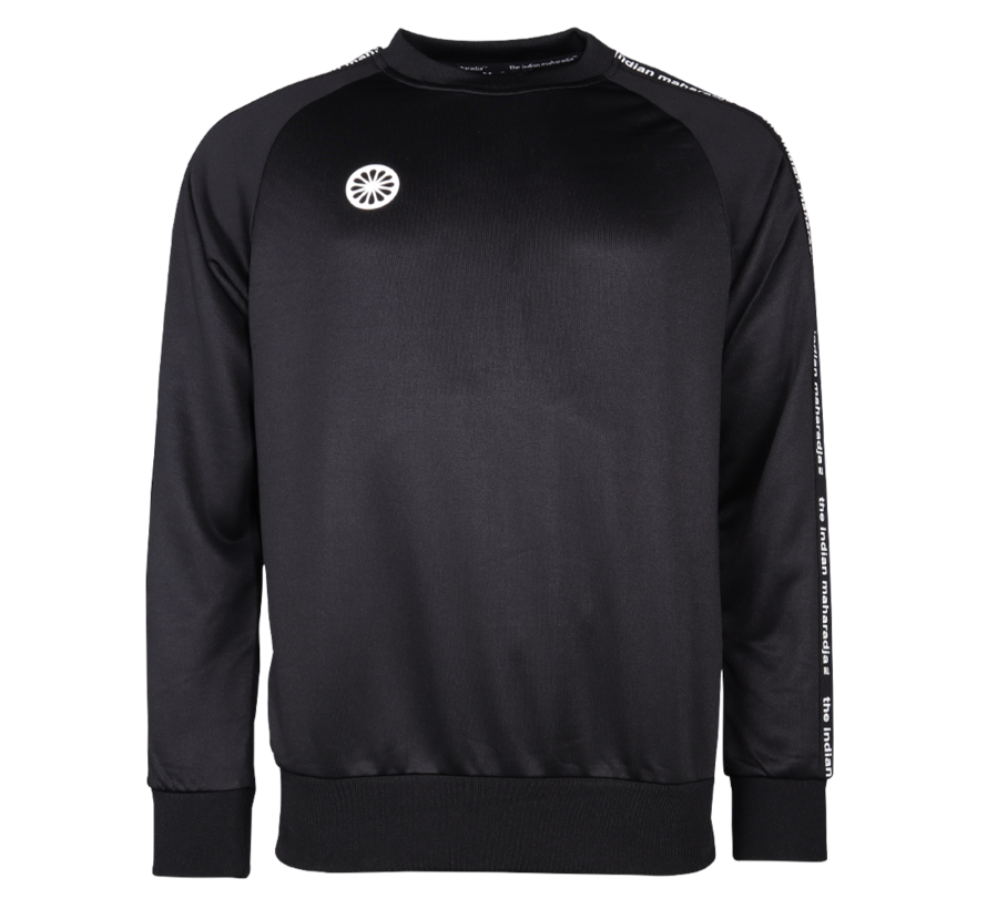 Men Sweater Poly Terry Black