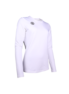 Indian Maharadja Women Thermo shirt White