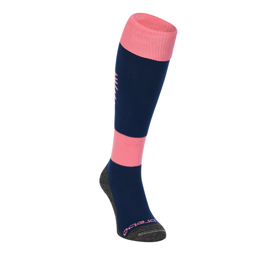 Socken Flowers Soft Pink/Navy