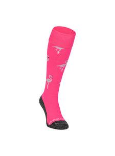 Brabo Sokken Flamingo Neon Roze