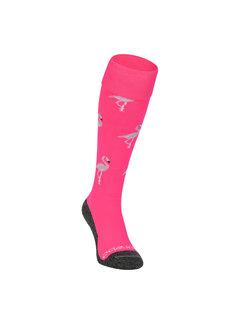 Brabo Socken Flamingo Neon Pink