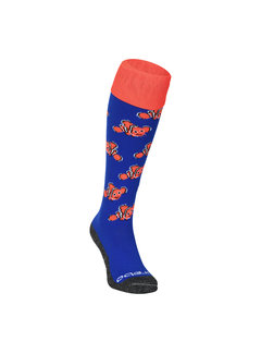Brabo Socks Fishes Blue/Orange