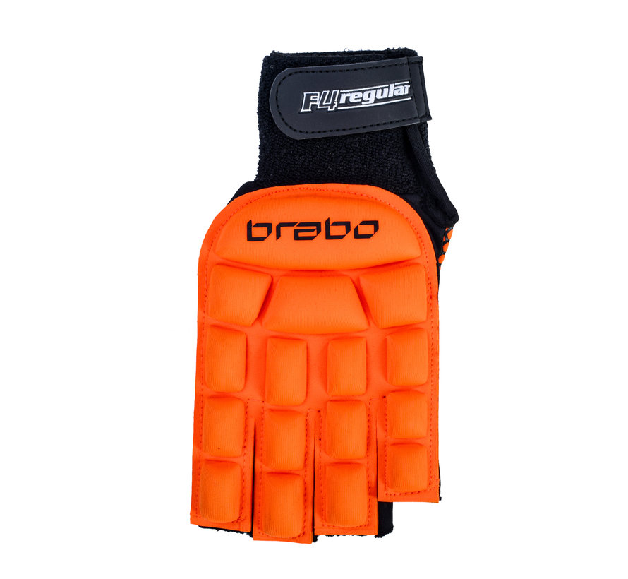 Foam Glove F4.1 ohne Daumen L.H. Orange