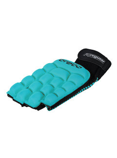 Brabo Foam Glove F4.1 zonder duim L.H. Aqua