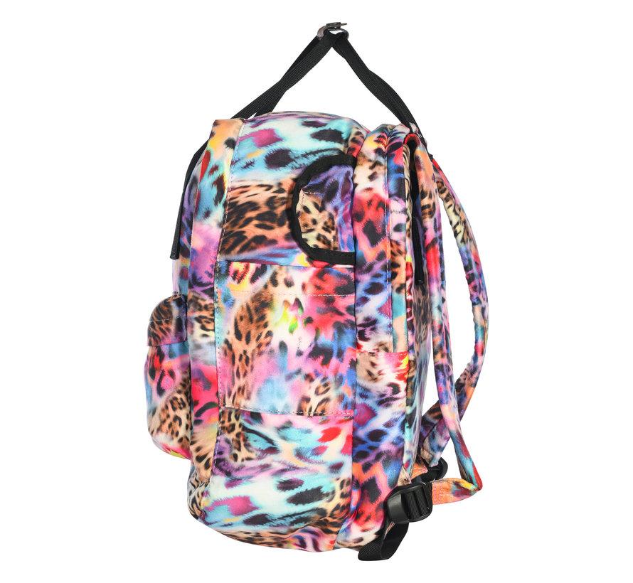 Backpack Street Leopard Rainbow