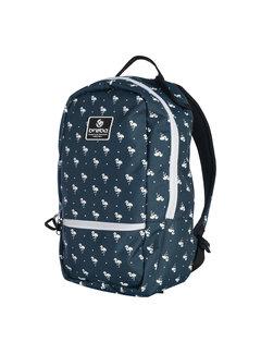 Brabo Backpack FUN Flamingo Navy/White