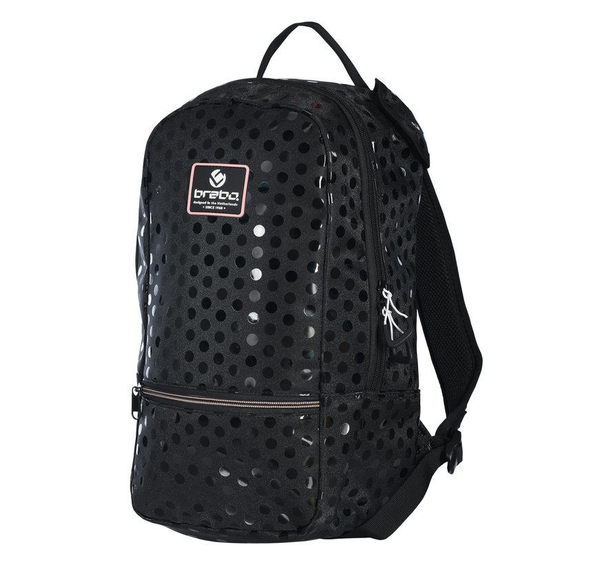 Backpack FUN Polka Black