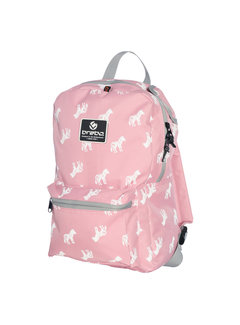 Brabo Backpack Storm Zebra Rose