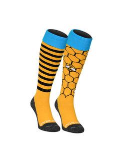Brabo Socken 2-Pack Bees (Mix&Match)