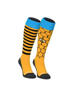 Brabo Socks 2-Pack Bees (Mix&Match)