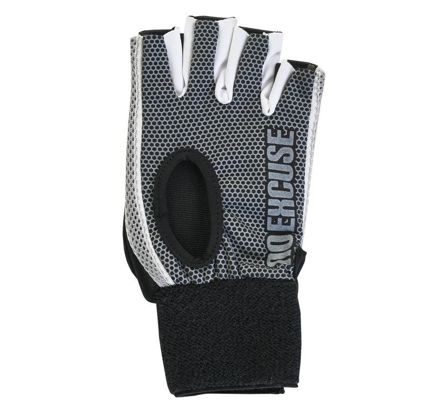 Hockey Handschuh Classic ohne Daumen Schwarz/Weiß