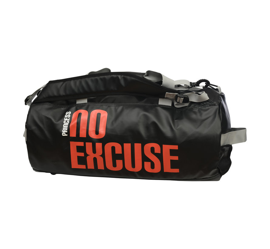 Duffle Bag No Excuse Black/Red