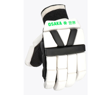 Osaka Hallenhockey Handschuh - Weiß / Schwarz