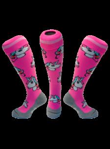 Hingly Hockey sock Unicorn Pastel Pink