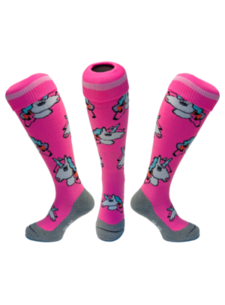 Hingly Hockeysocke Unicorn Pastel Pink