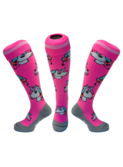 Hingly Hockey sock Unicorn Pastel Pink