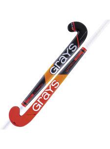 Grays 100i zaalhockeystick UB MC Zwart/Rood