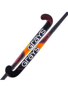 Grays GTI3500 DB Hallen Hockeyschläger Schwarz/Rot