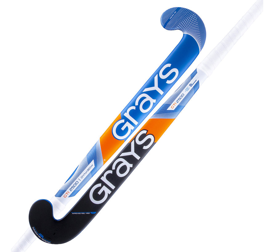 GTI2500 DB zaalhockeystick Kobalt/Zilver